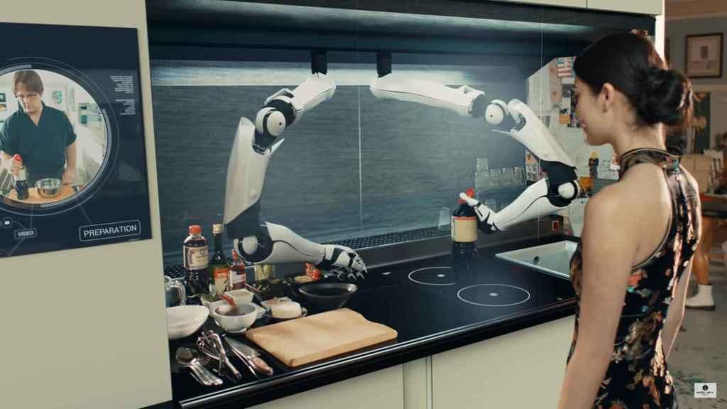 Robots cocineros