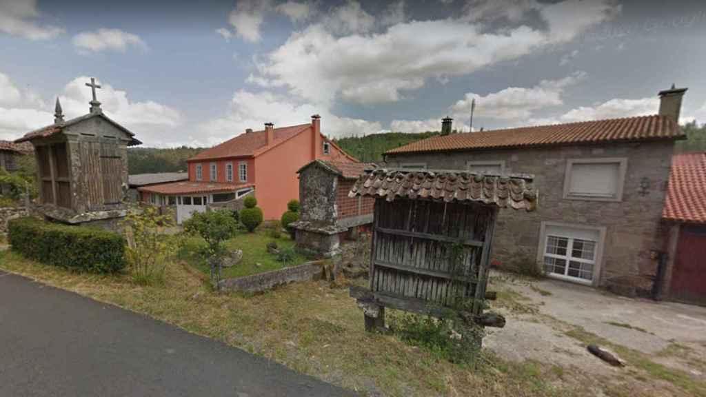 La aldea de Reborido, en Villestro (Santiago de Compostela), lugar donde ocurrieron los hechos.