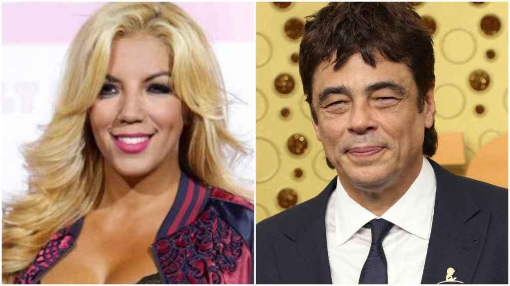 Rebeca Pous y Benicio del Toro.