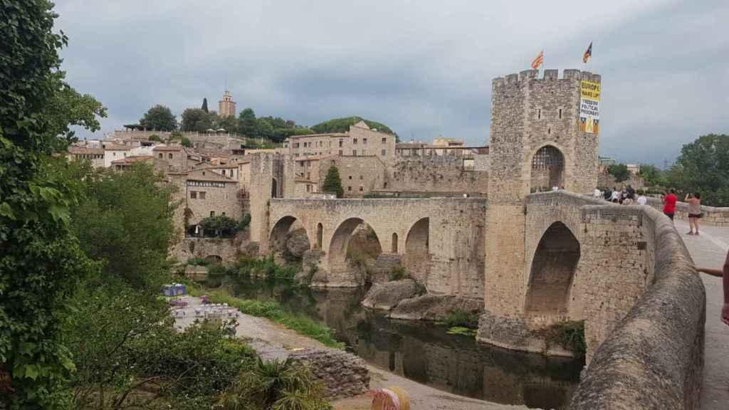 Uno de los castillos medievales catalanes.