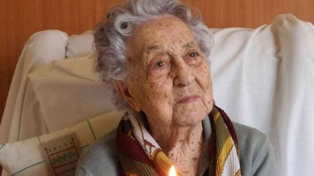 María Branyas, la mujer más longeva de España.