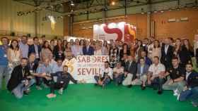Stand de 'Sabores de la Provincia de Sevilla' en la feria Andalucía Sabor.