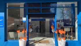 Una de las tiendas de Naturgy.