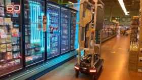 El robot desarrollado por Amazon para eliminar el coronavirus de sus almacenes