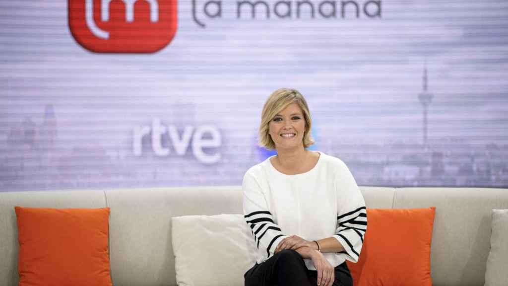 María Casado en una imagen promocional de 'La mañana'.