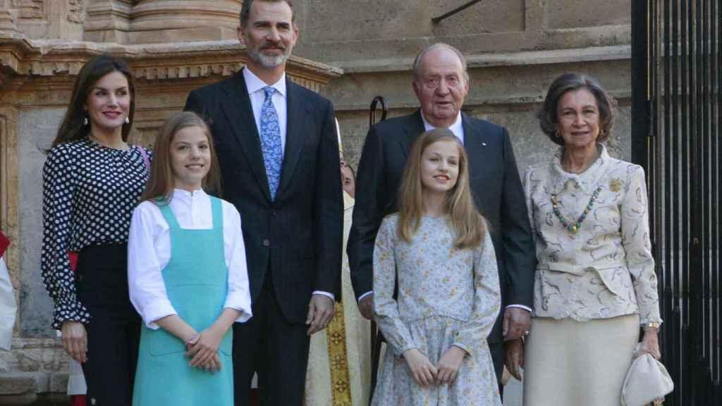 Si Felipe VI decide apartar a Juan Carlos, Sofía seguiría siendo parte de la Casa Real.