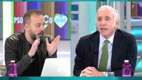 Antonio Maestre y Eduardo Inda (Telecinco)