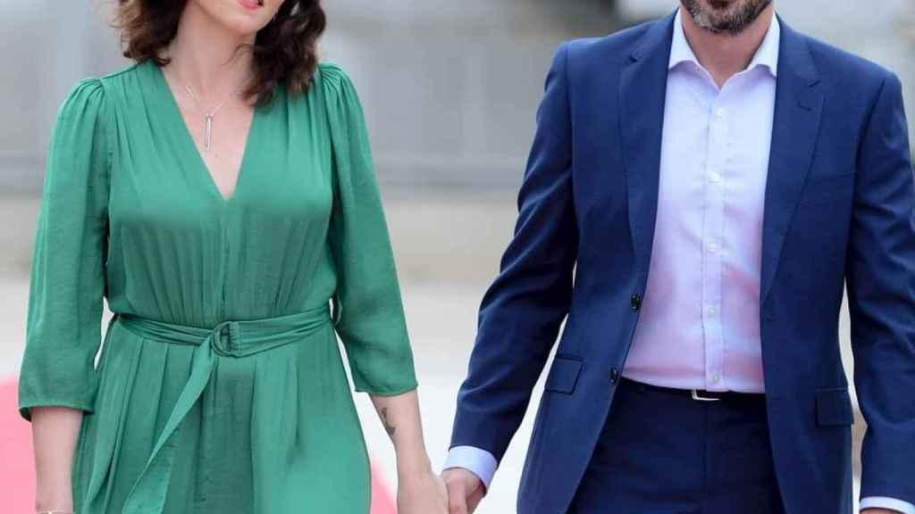 Isabel Díaz Ayuso y su pareja, Jairo Alonso.