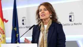 Aurelia Sánchez, consejera de Bienestar Social de Castilla-La Mancha, en una imagen de archivo
