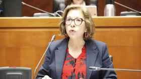 La hasta hoy consejera de Sanidad del Gobierno de Aragón, Pilar Ventura.