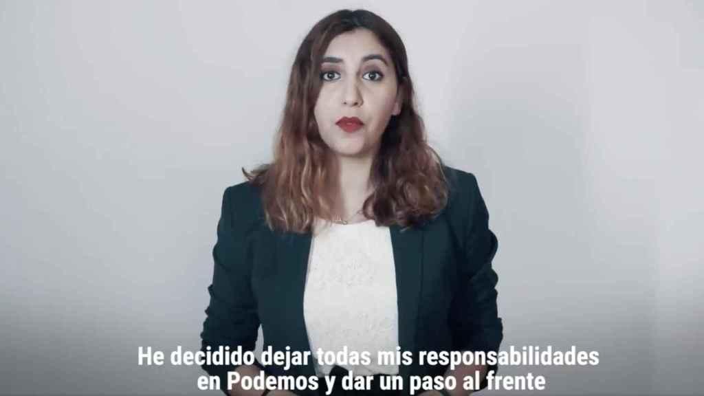 Dina Bousselham, directora de La Última Hora!, en su vídeo de presentación.