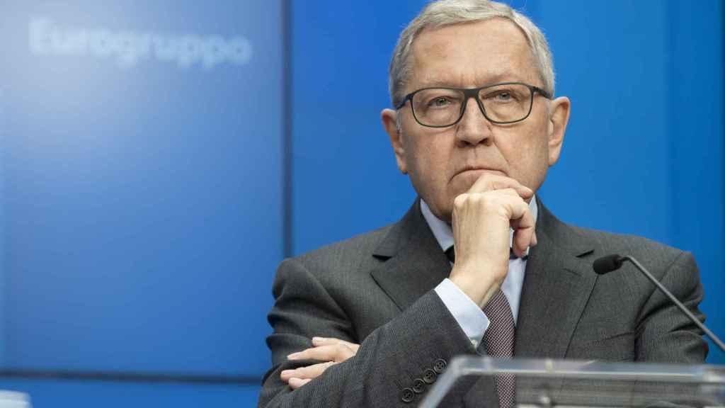 El director del Fondo de Rescate de la UE, Klaus Regling