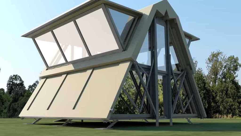 Casa plegable de Ten Fold Engineering