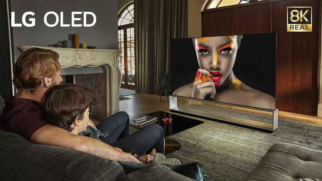 Nuevos televisores OLED de LG.