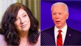 Tara Reade y Joe Biden.