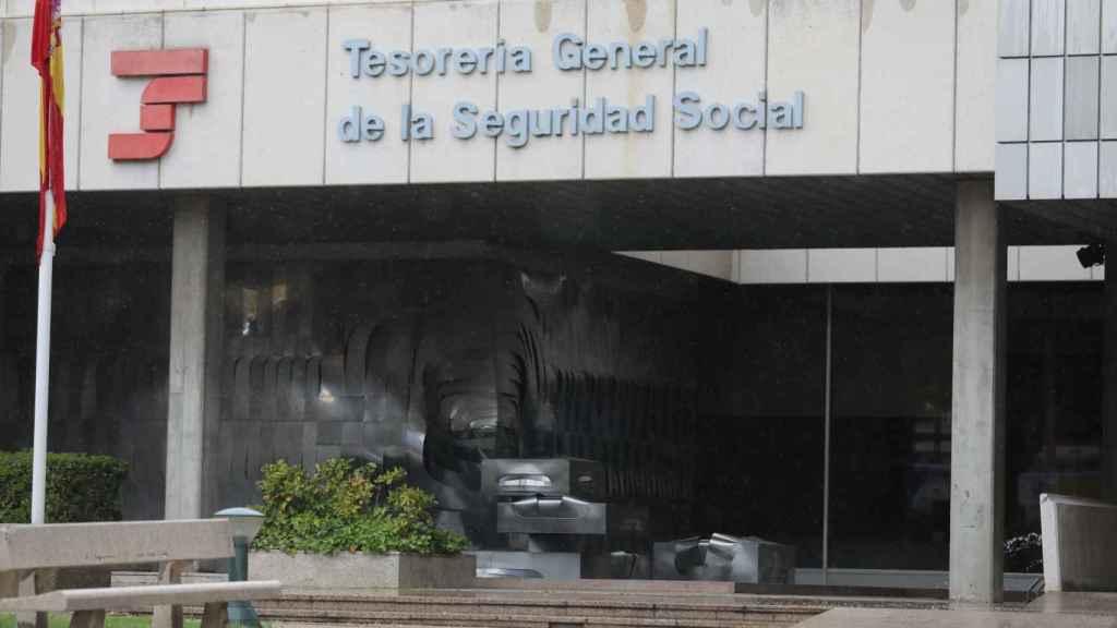 Sede de la Tesorería de la Seguridad Social.