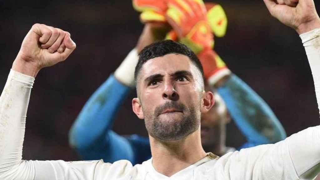 Álvaro González, en un partido del Olympique de Marsella. Foto: Instagram (@alvarogonzalez_)