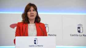 Blanca Fernández, portavoz del Gobierno de Castilla-La Mancha (JCCM)