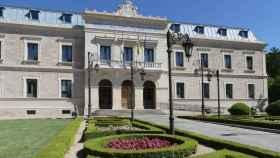 La fachada de la Diputación de Cuenca