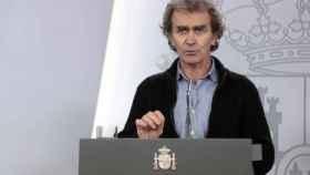 Fernando Simón en rueda de prensa.