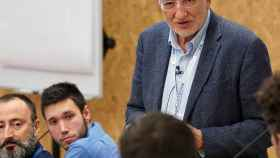 Juan Roig, impulsor de Lanzadera, en una sesión con emprendedores.