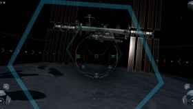 En el simulador espacial de SpaceX podemos controlar la cápsula Dragon