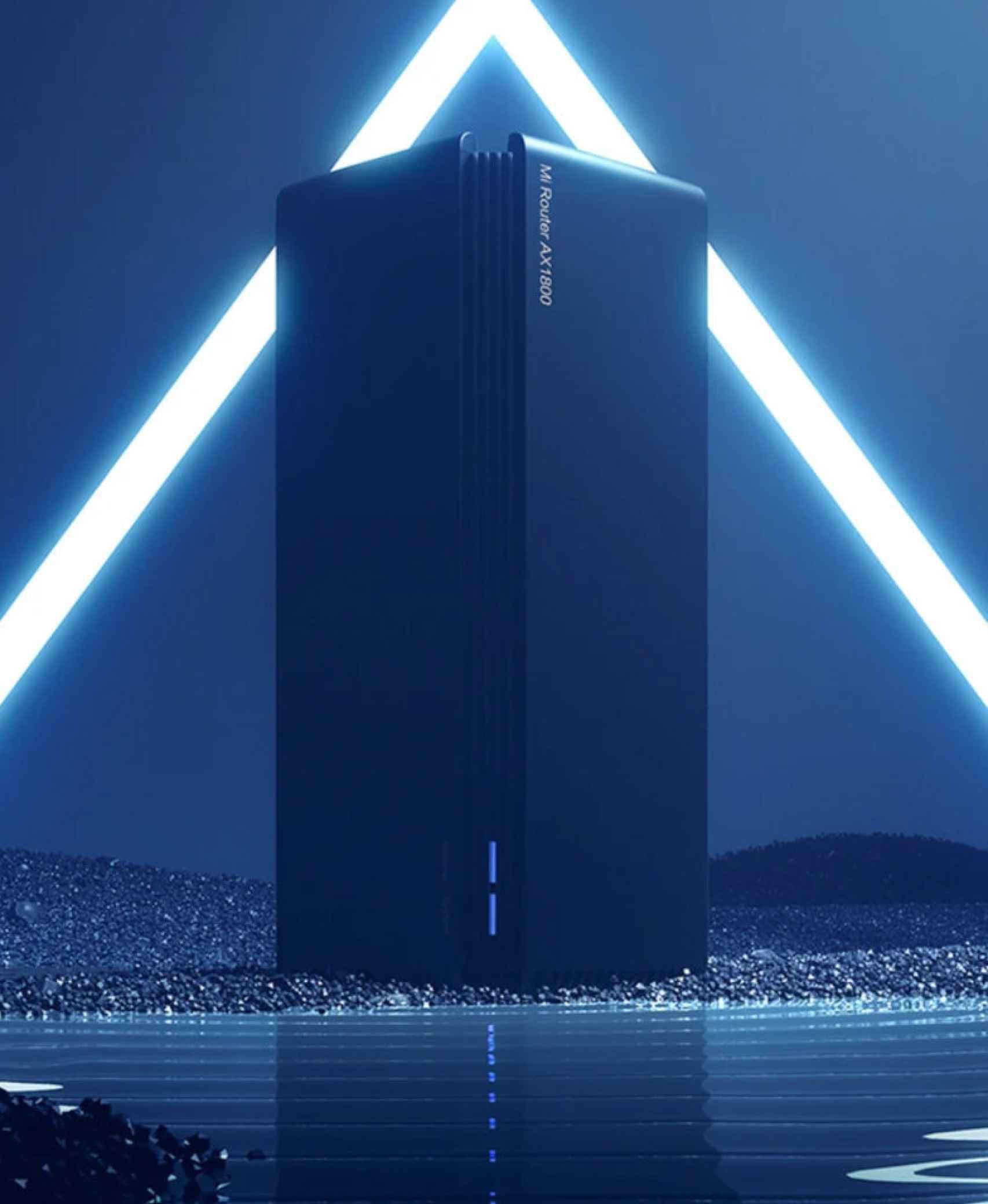 El diseño del nuevo router de Xiaomi es espectacular