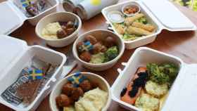 Los platos preparados por Ikea.