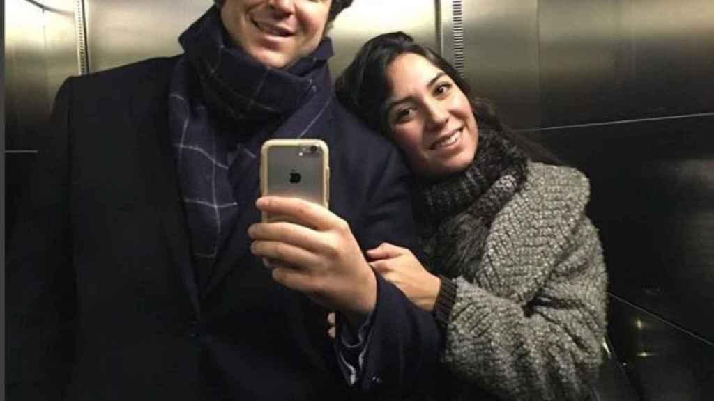 Álex Lequio y Raquel Rodríguez en una imagen de su Instagram.