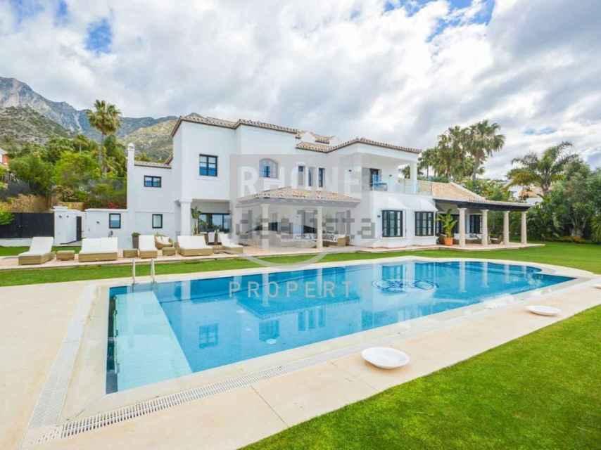 Una mansión de Marbella.