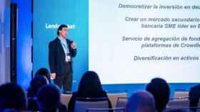 Alejandro Villalonga, CEO de Lendmarket.