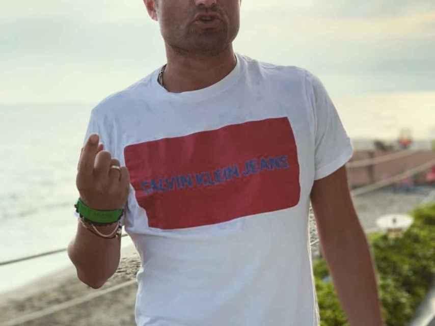 Alfonso Merlos en una imagen de su Instagram.