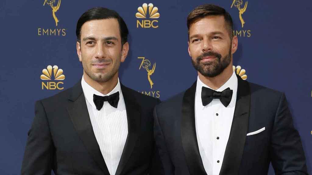 Ricky Martin y su marido Jwan Yosef en una imagen de archivo.