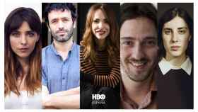 Leticia Dolera, Rodrigo Sorogoyen, Paula Ortiz, Carlos Marqués-Marcet y Elena Martín