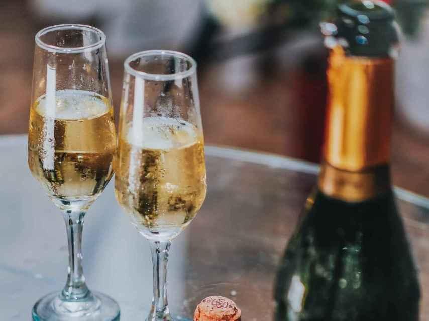 El champán no es solo para brindar.
