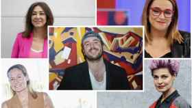 Varias personalidades en montaje de JALEOS junto a Álex Lequio.