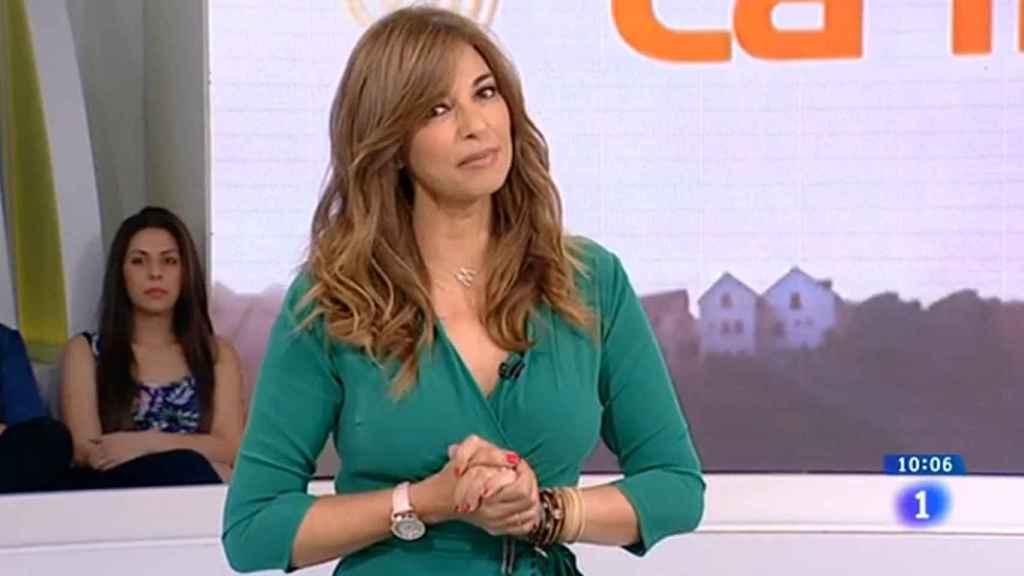 Mariló Montero durante la presentación de 'La mañana'.