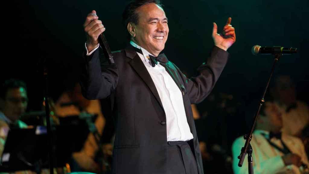 El cantante mexicano Yoshio, en una imagen de archivo.