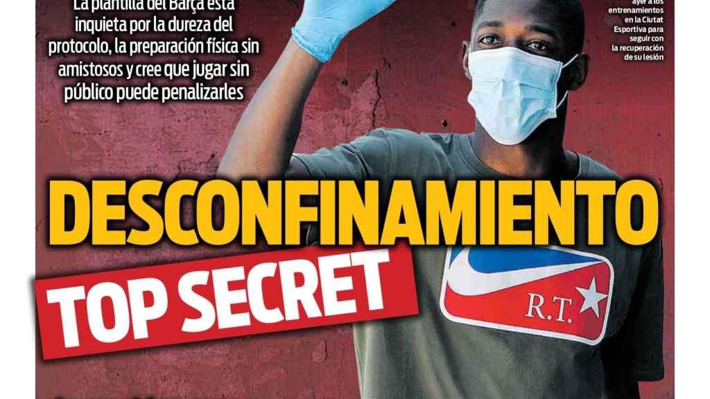 Portada Sport (14/05/20)
