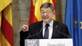 El presidente valenciano, Ximo Puig, en una imagen de archivo.