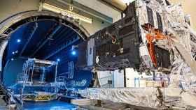 El satélite SBIRS GEO-5 de la Fuerza Espacial de los Estados Unidos.