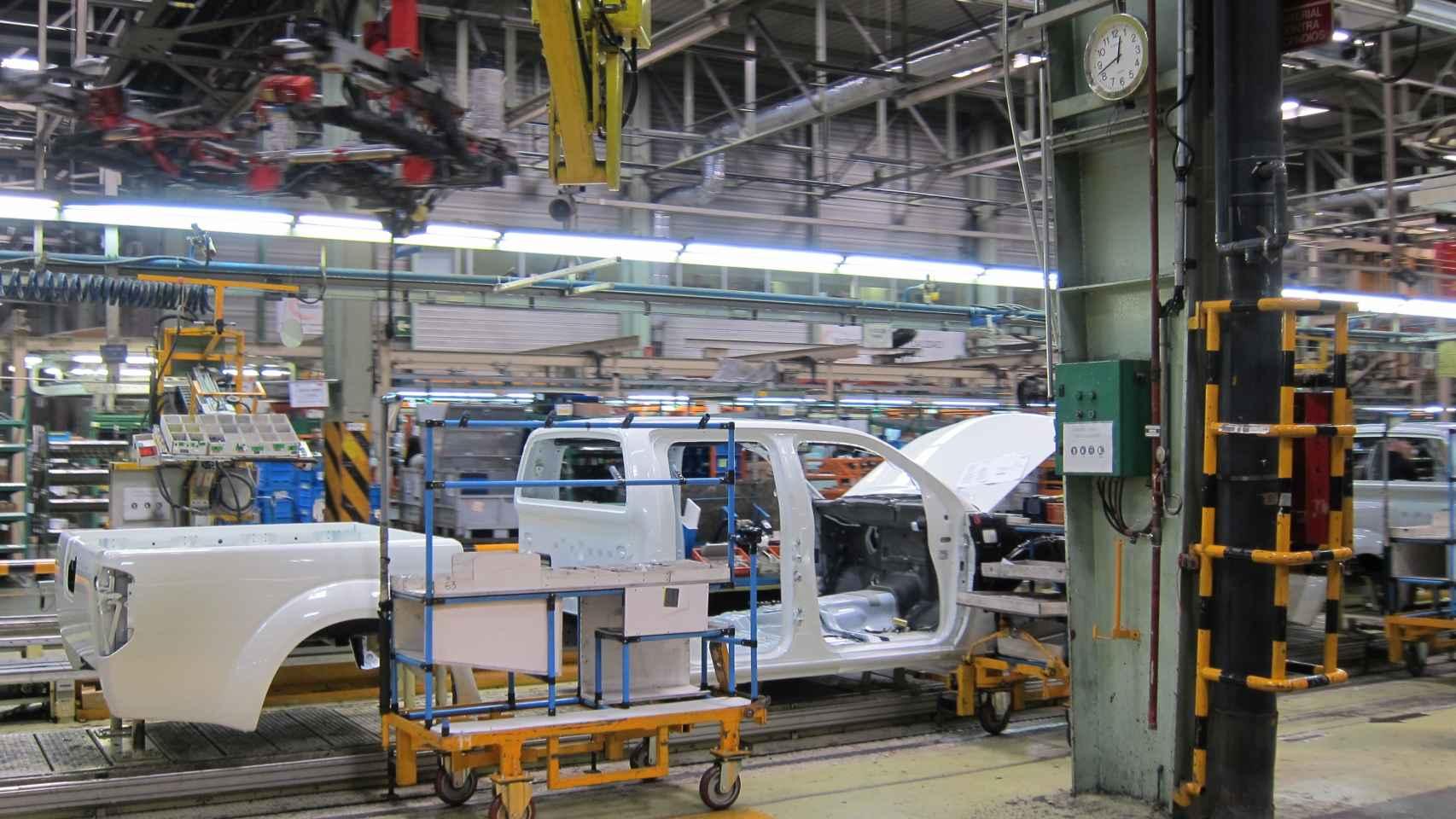 Imagen de la fábrica de Nissan en la Zona Franca de Barcelona.