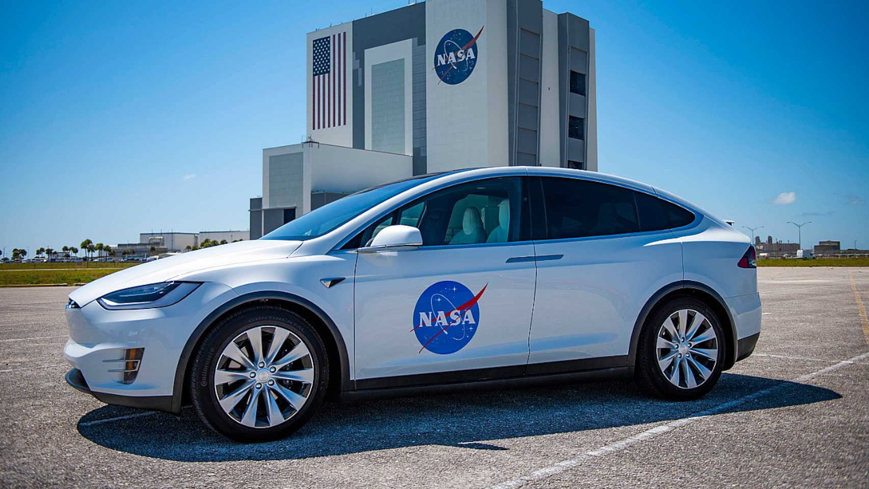 Este es el Tesla Model X que usarán los astronautas de la próxima misión de la NASA