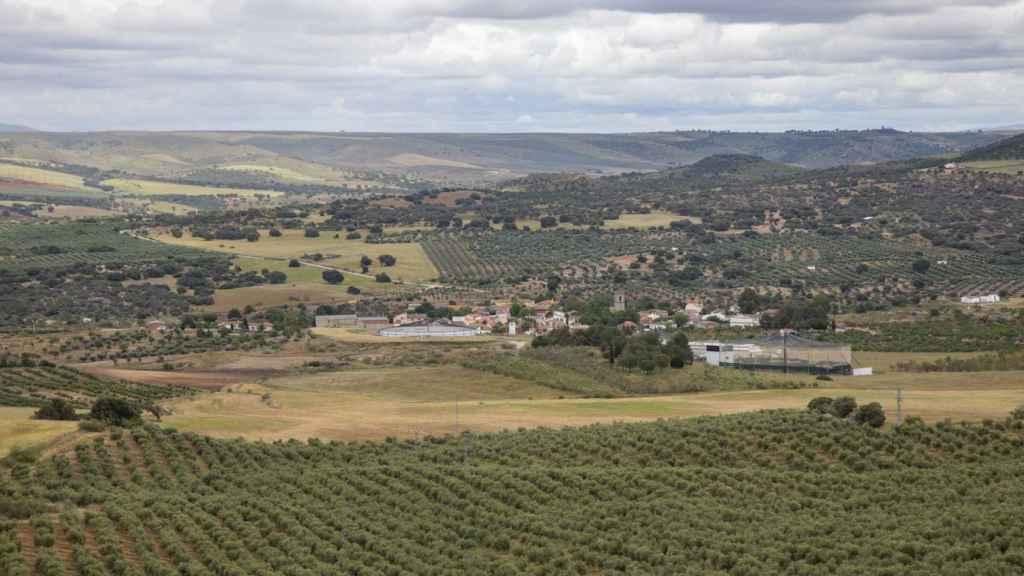 Vista del municipio toledano de Villarejo de Montalbán.