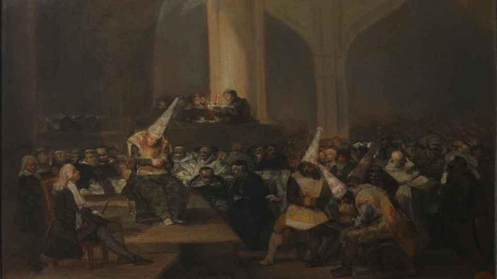 'Escena de Inquisición', de Francisco de Goya