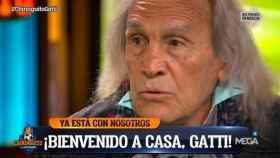 'El Loco' Gatti, en El Chiringuito de Jugones'. Foto: Twitter (@elchiringuitotv)