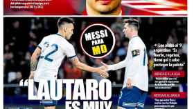 Portada Mundo Deportivo (15/05/20)