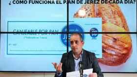 El portavoz del PP de Jerez de la Frontera, Antonio Saldaña.