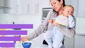 Las madres soportan la mayor parte de tareas del hogar y de cuidados.