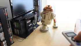 Un robot aspirador inspirado en R2-D2